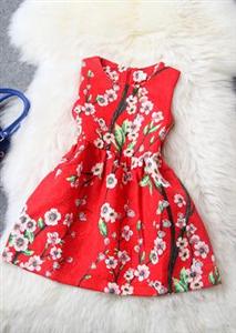 Váy thô hoa đào Zara
