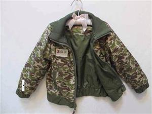 Áo khoác mặc 2 mặt cho bé